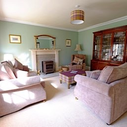 To add to your comfort and enjoyment of your stay at the Old Manse Bed and Breakfast we have a guest sitting room overlooking the garden, which is sto