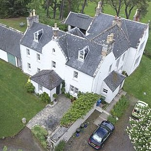 Bird's eye view of The Old Manse Bed and Breakfast Kildary