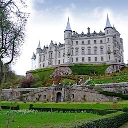 Dunrobin Castle, Golspie. A great day out and just twenty miles from The Old Manse Bed and Breakfast