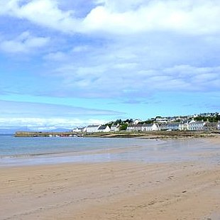Portmahomack beach, just 15 minutes drive from The Old Manse Bed and Breakfast
