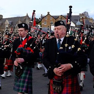 March of the pipe bands